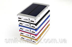 Power Bank c солнечной батареей+LED 30000