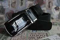 Ремень автомат Levi's кожаный мужской