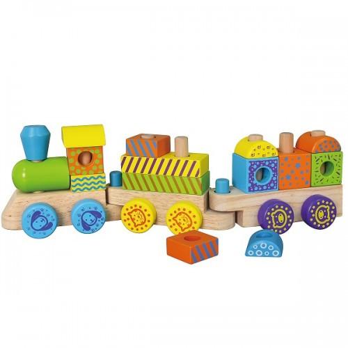Конструктор Viga Toys Поезд (50572B)