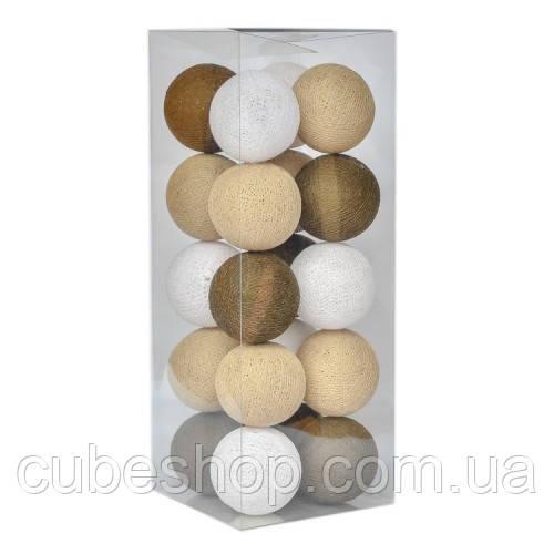 "Тайская LED-гирлянда ""Sand"" (10 шариков) на батарейках"