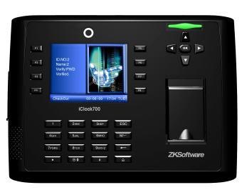 Система контроля и учета рабочего времени ZKTeco iClock700