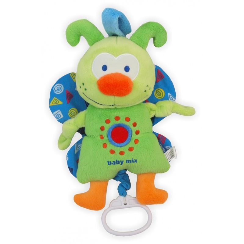 """Плюшевая игрушка Baby Mix """"Бабочка"""" ТЕ-8113-25В"""