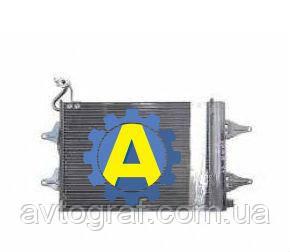 Радиатор кондиционера на Шкода Фабиа (Skoda Fabia) 2007-2010