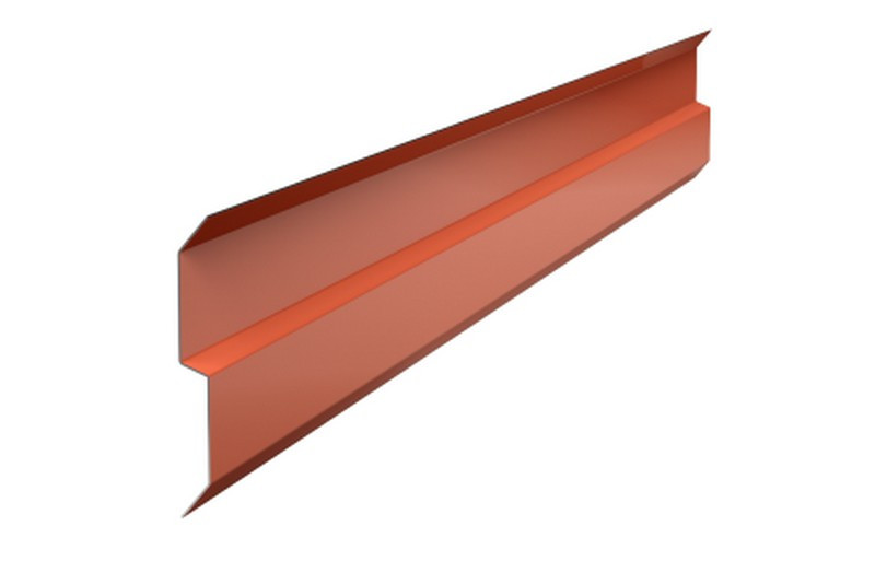 Планка примыканий Alu 70ммх2пм алюминний