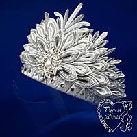Корона Сніжинка ,Снігова королева, снігуронька, зима ранок