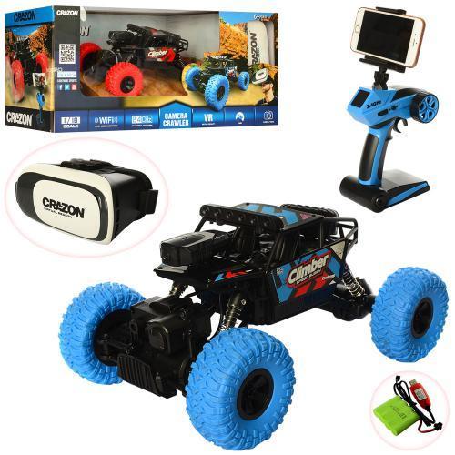 Машинка на радиоуправлении Climber speed buggy с 3D VR очками 171804
