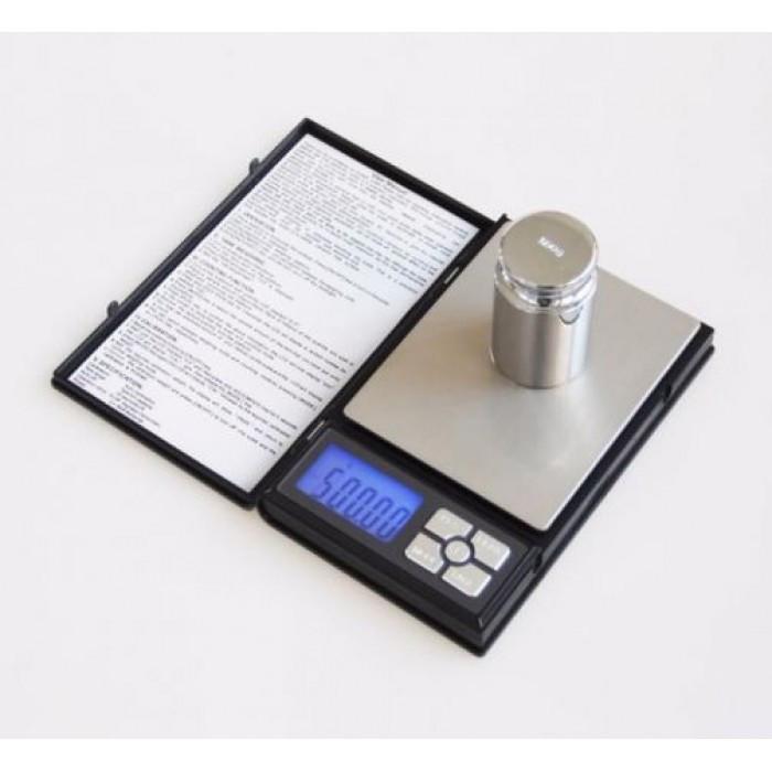 Ювелірні ваги електронні 0,01-500 гр 1108-5 notebook