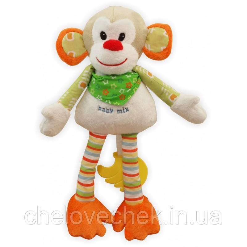 """Плюшевая игрушка Baby Mix """"Мартышка"""" ТЕ-8275-36"""