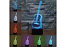 3D Светильник Гитара, фото 3