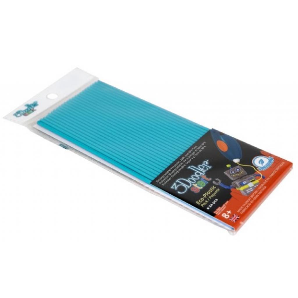 Набор стержней для 3D-ручки 3Doodler Start Голубой 3DS-ECO05-BLUE-24