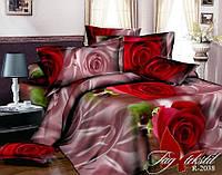 Комплект постельного белья полуторный ТМ TAG Ранфорс R2038