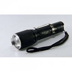Тактичний ліхтар POLICE BL 1860 T6 50000W ліхтарик 1000 Люмен