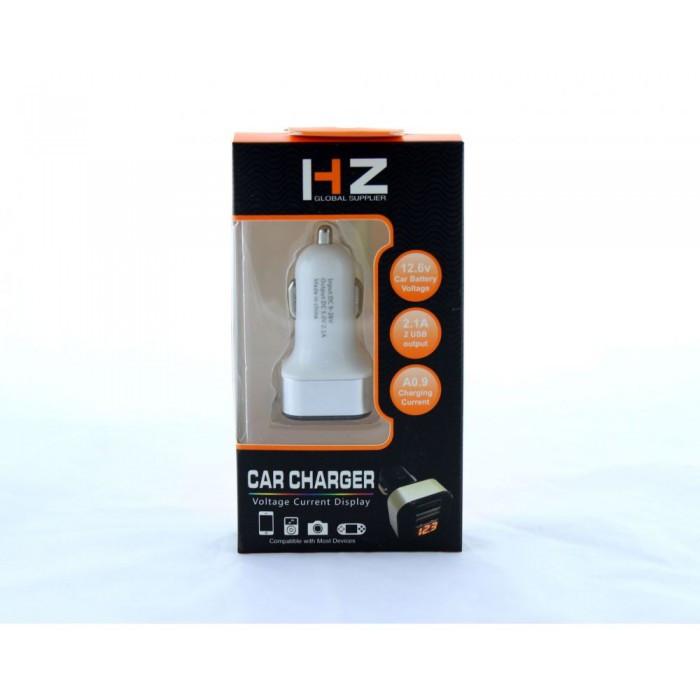 Авто USB зарядка адаптер HC-1 9001 от прикуривателя 12v зарядное