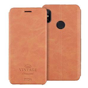 Кожаный чехол (книжка) MOFI Vintage Series для Xiaomi Mi 6X / Mi A2, фото 2