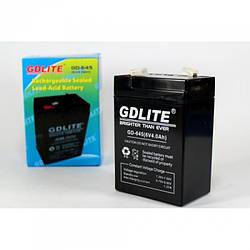 Акумулятор GDLITE-GD-645 6V 4.0 Ah
