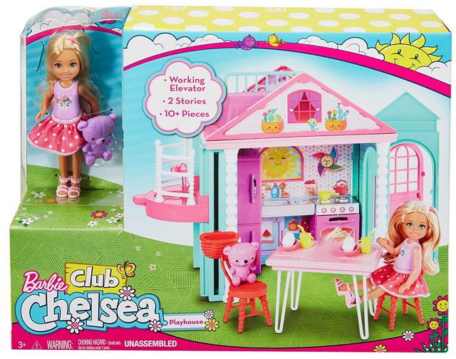 игровой набор barbie дом развлечений челси