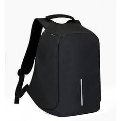 Рюкзак Антивор Bobby c защитой от карманников Бобби Чёрный