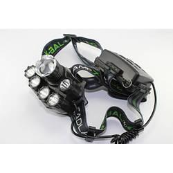 Налобный фонарь BL POLICE BL-T78 158000W T6 фонарик 1700 Lumen + УФ