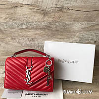 Кожаная женская сумка Yves Saint Laurent, фото 1