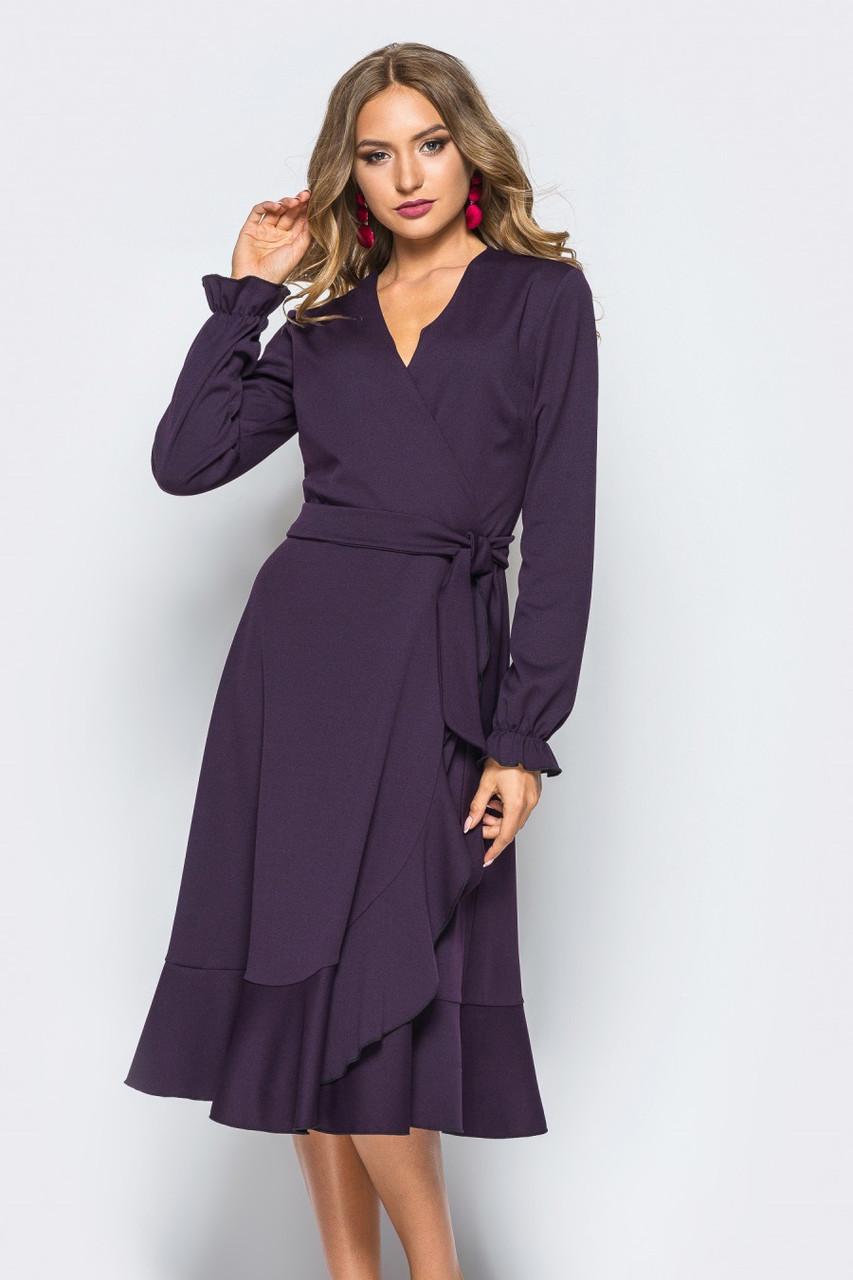 (S, L) Вишукане вечірнє фіолетове плаття Jois