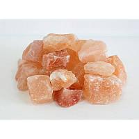 Гімалайська рожева сіль Камені 50-80мм 1кг для лазні та сауни, фото 1