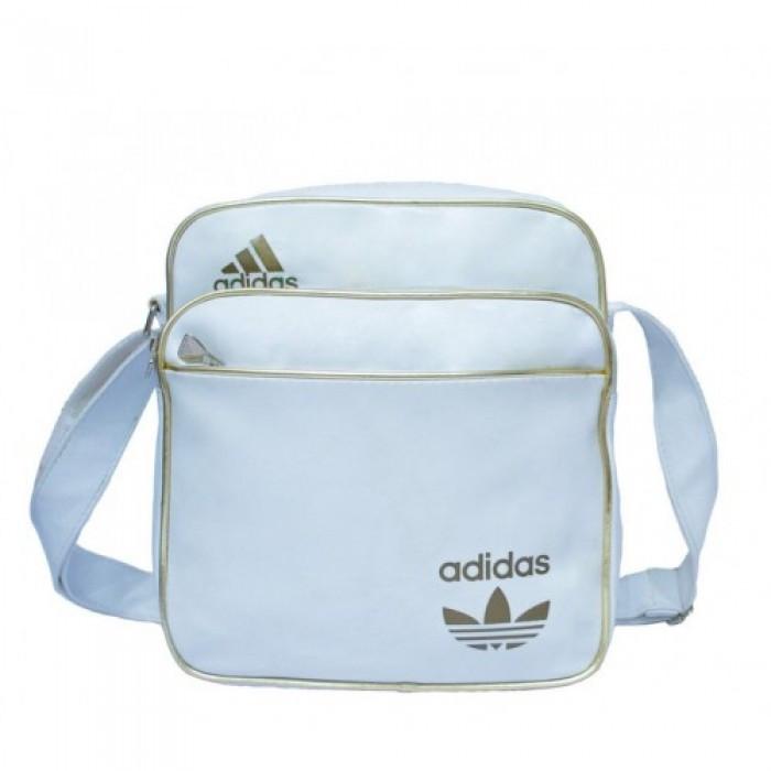 Сумка на плечо Adidas Messenger A-1084 Размер 27x27x14 Белая