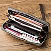 Клатч чоловічий гаманець портмоне барсетка Baellerry S1514 business Кавовий, фото 7