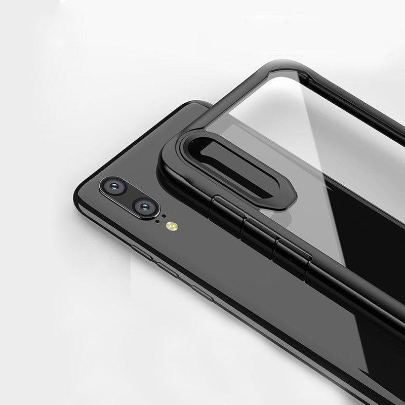 TPU+PC чехол iPaky Luckcool Series для Huawei P20 Pro Для телефона Черный