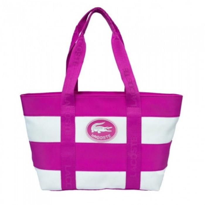 Сумка Lacoste Style 106 (Размер 25Х33Х15) Розовая