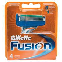 Сменные кассеты Gillette Fusion 4 шт (7702018874460)