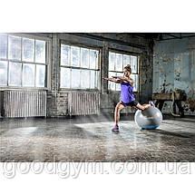 Мяч для фитнеса Reebok Stability Gymball Grey/Blue 55cm RAB-40015BL, фото 3
