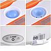 Автомобильный Ланч бокс с подогревом VJTech YS-001 от сети 12В оранжевый, фото 5