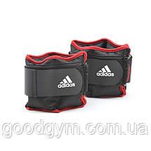 Утяжелители Adidas ADWT-12230 по 2 кг, фото 2