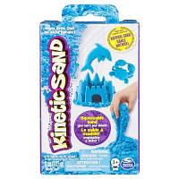 Песок для детского творчества - KINETIC SAND NEON (голубой, 227г)
