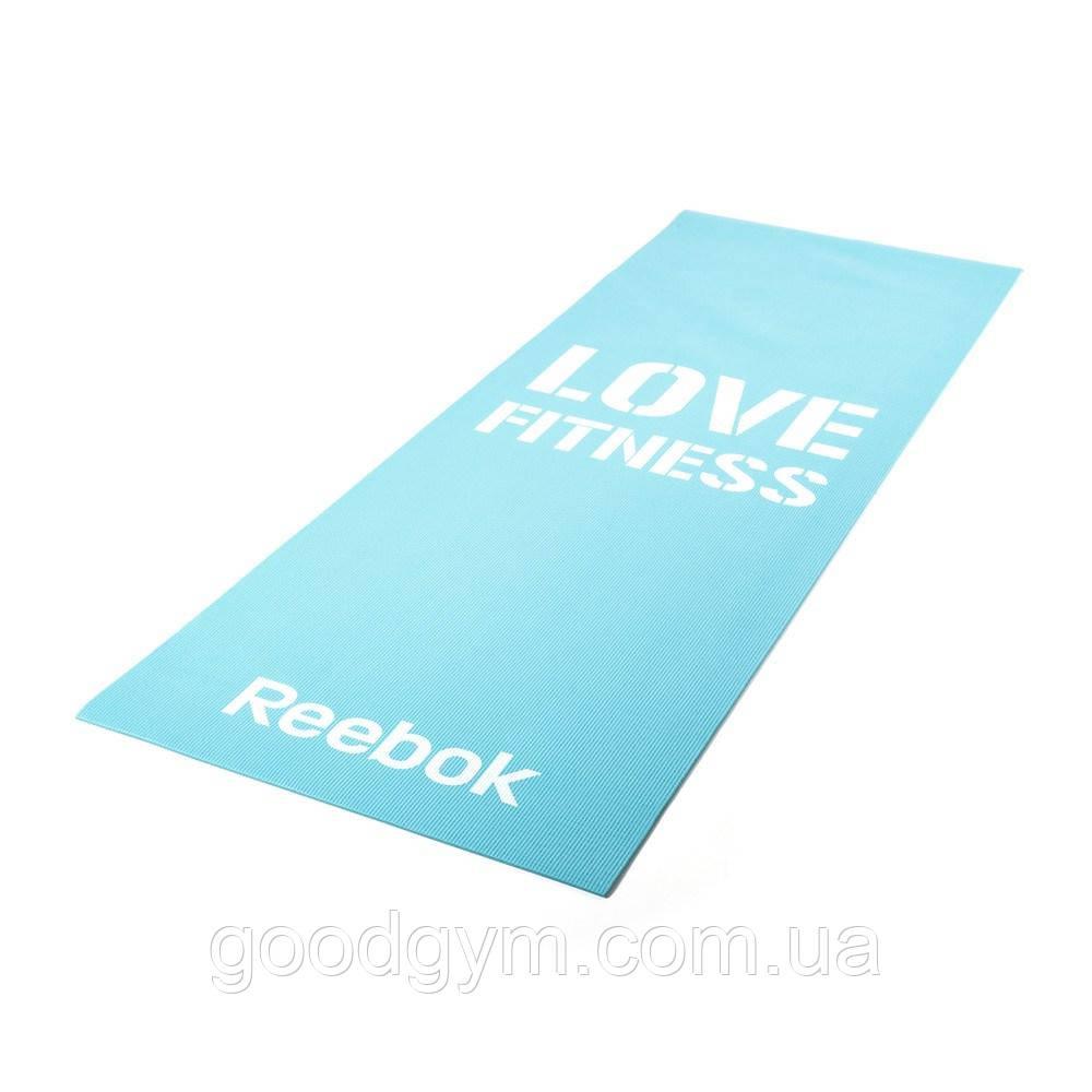Мат для фитнеса Reebok Love Fitness RAMT-11024BLL