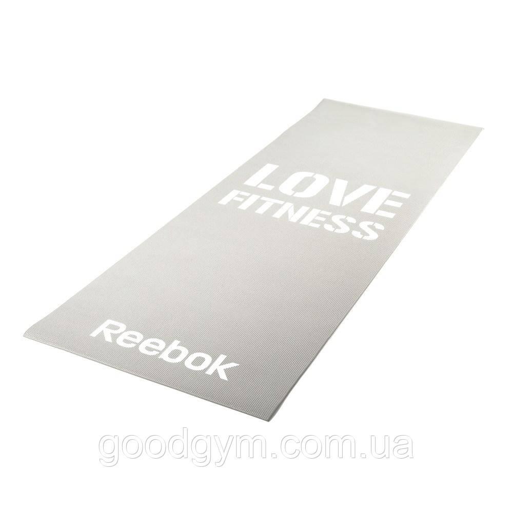 Мат для фітнесу Reebok Love Fitness RAMT-11024GRL