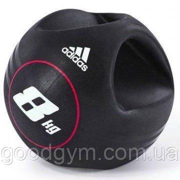 Медбол Adidas ADBL-10414 - 8 кг, фото 2