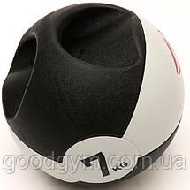 Медбол Reebok Double Grip Med Ball RSB-16127 - 7 кг, фото 2