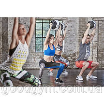Медбол Reebok Double Grip Med Ball RSB-16129 - 9 кг, фото 2
