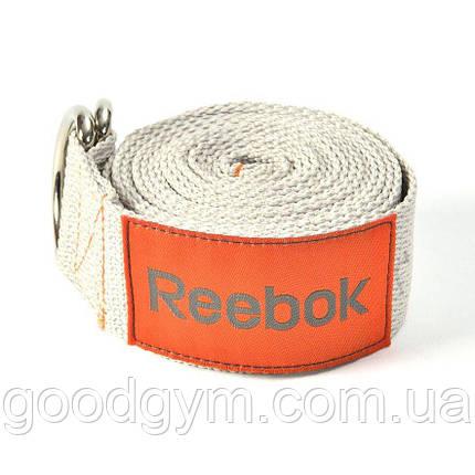 Ремень для йоги Reebok Yoga Strap RSYG-10023 коричневый, фото 2