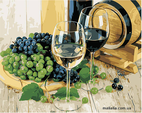 Картины по номерам 40*50 см В КОРОБКЕ Виноделие  Artstory