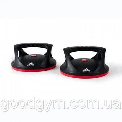 Упоры для отжиманий поворотные Adidas ADAC-11401, фото 2