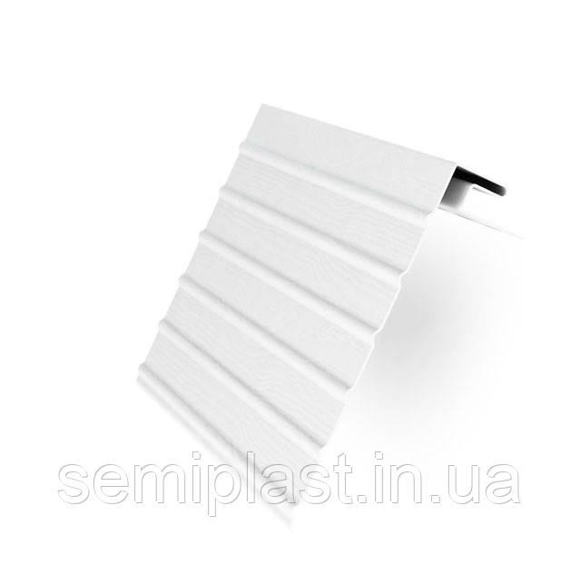 J-фаска (вітрова планка) Rainway Біла