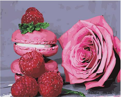 Картины по номерам 40*50 см В КОРОБКЕ Розовое наслаждение Artstory