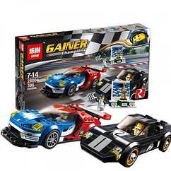 Конструктор LEPIN 28004 Форд GT 2016 и Форд GT40 1966 Speed Champions 395 дет