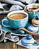 Картины по номерам 40*50 см В КОРОБКЕ За чашечкой кофе Artstory