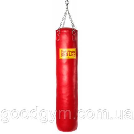 Боксерский мешок BENLEE Punch 1,5 m (199086/2000) Красный, фото 2