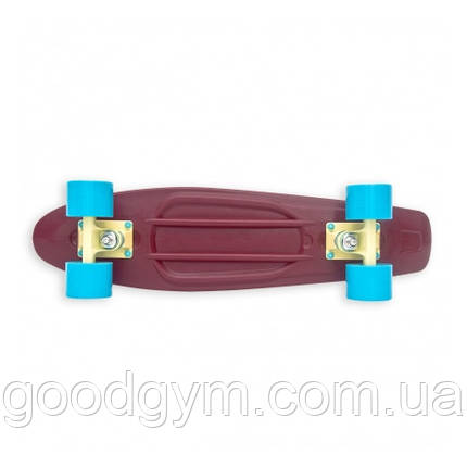 Скейт Baby Miller Old is Cool Wine Red, фото 2