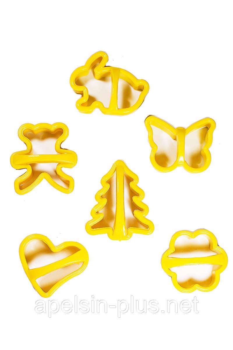 """Форма для печенья """"Ассорти с елочкой"""" набор из 6 форм"""