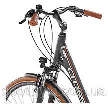 """Велосипед 28"""" CROSS Arena LS рама 17"""" 2017 черный, фото 2"""